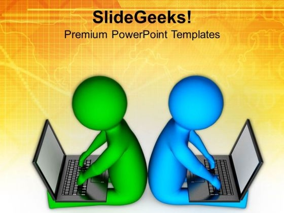Make Your Business Global And Technical PowerPoint Templates Ppt Backgrounds For Slides 0713