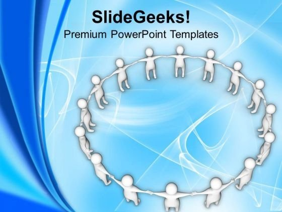 Make Your Own Circle PowerPoint Templates Ppt Backgrounds For Slides 0513