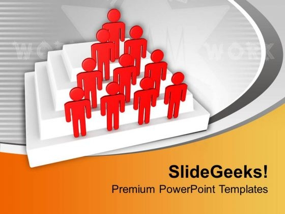 Make Your Own Team For Business PowerPoint Templates Ppt Backgrounds For Slides 0613