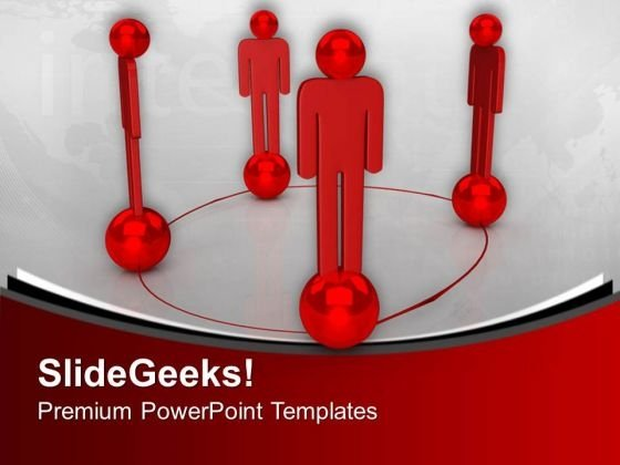 Making Networks Is Not Easy PowerPoint Templates Ppt Backgrounds For Slides 0713