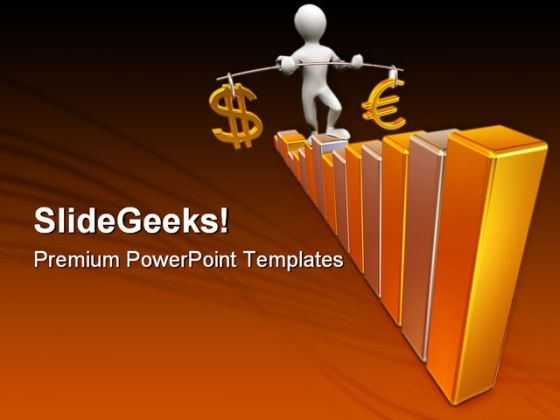 Man Going Up Business PowerPoint Templates And PowerPoint Backgrounds 0411