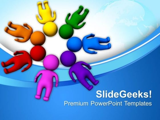 Man Together Business PowerPoint Templates And PowerPoint Themes 0612