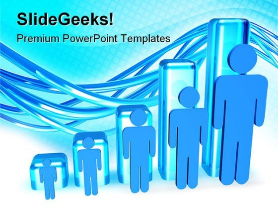 people graph powerpoint templates slides and graphics