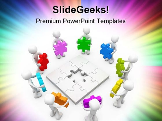 Many Options Business PowerPoint Themes And PowerPoint Slides 0511