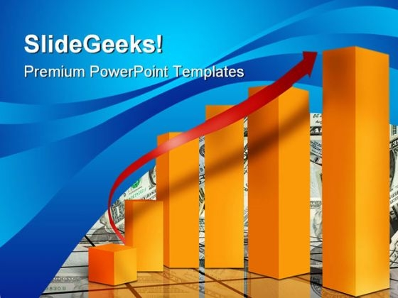 Market Sales Graph Success PowerPoint Templates And PowerPoint Backgrounds 0711