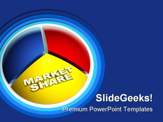 Market Share Business PowerPoint Templates And PowerPoint Backgrounds 0511