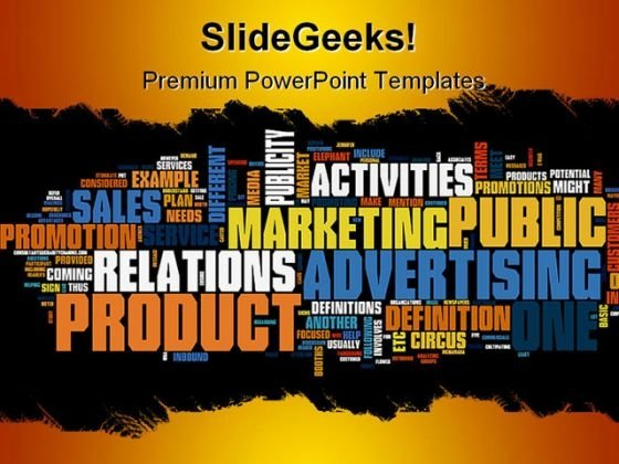 Marketing01 Business PowerPoint Backgrounds And Templates 1210