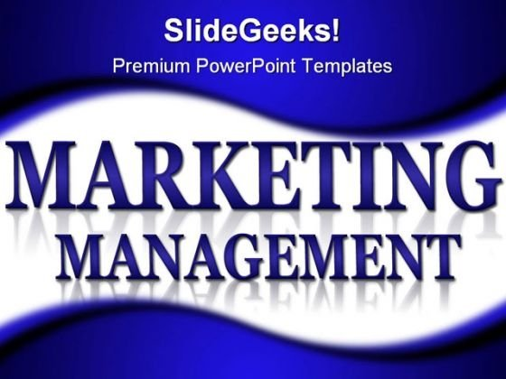 Marketing And Management Business PowerPoint Background And Template 1210