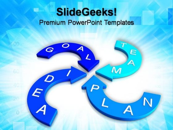 Marketing Strategy Metaphor PowerPoint Templates And PowerPoint Themes 0812