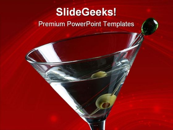Martini Lifestyle PowerPoint Templates And PowerPoint Backgrounds 0611