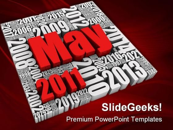May 2011 Future Business PowerPoint Templates And PowerPoint Backgrounds 0311