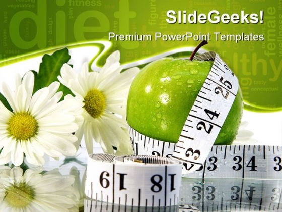 Measurement Health PowerPoint Templates And PowerPoint Backgrounds 0411
