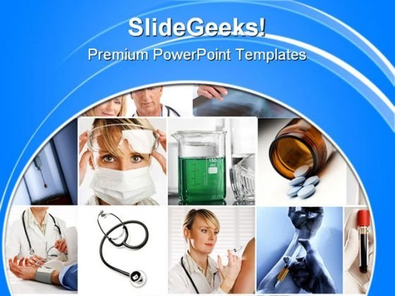 Medical Collage Science PowerPoint Templates And PowerPoint Backgrounds 0711