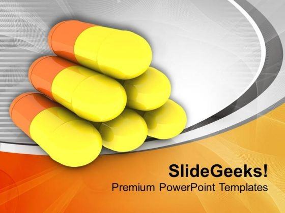 Medical Treatment Depends On Medicine PowerPoint Templates Ppt Backgrounds For Slides 0613