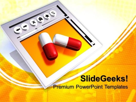 Medication From Internet PowerPoint Templates And PowerPoint Themes 0712