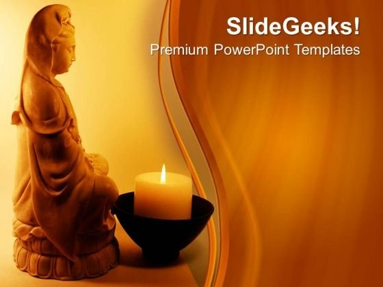 Meditation Religion PowerPoint Templates And PowerPoint Themes 0712