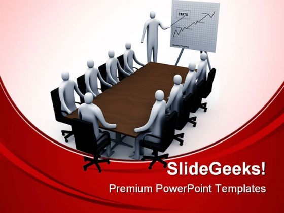 Meeting Room Business PowerPoint Templates And PowerPoint Backgrounds 0611