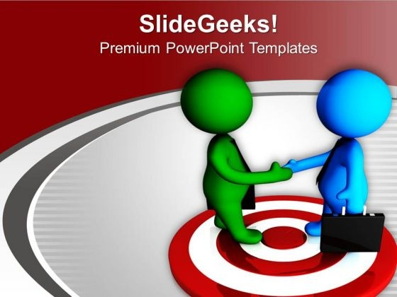 Meeting Should Always Based On Targets PowerPoint Templates Ppt Backgrounds For Slides 0713
