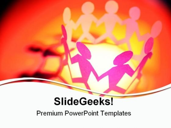 Meeting Together Abstract PowerPoint Templates And PowerPoint Backgrounds 0611