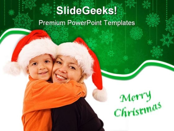 Merry Christmas01 Festival PowerPoint Templates And PowerPoint Backgrounds 0911