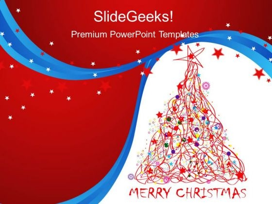 Merry Christmas Abstract PowerPoint Templates And PowerPoint Themes 0212