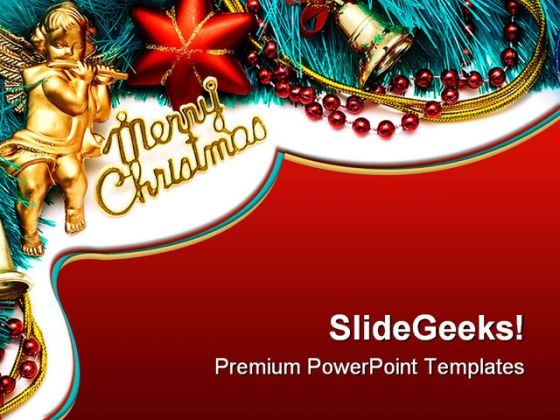 Merry Christmas Background PowerPoint Templates And PowerPoint Backgrounds 0711