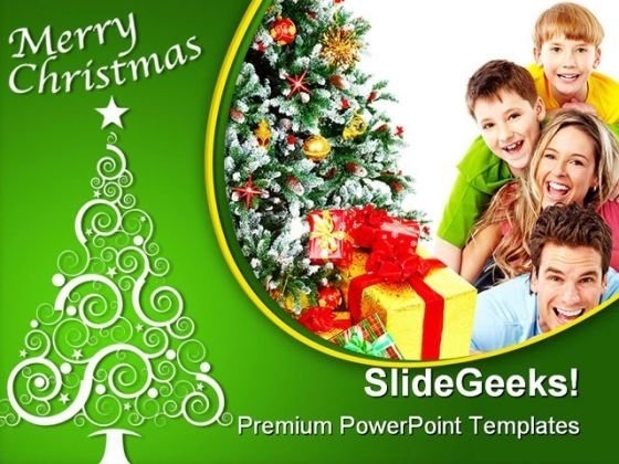 Elderly powerpoint templates slides and graphics merry christmas family festival powerpoint template 1010 toneelgroepblik Image collections