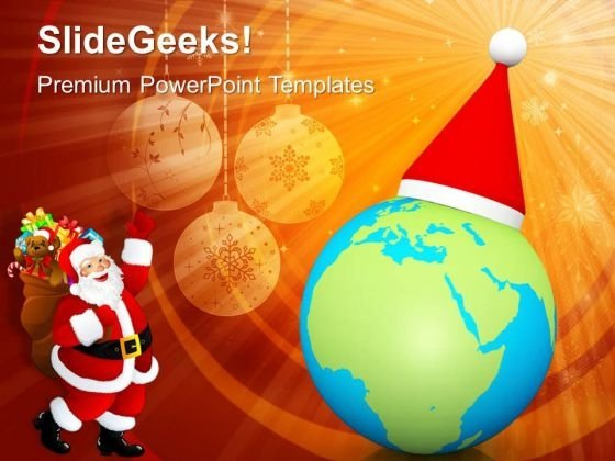 Merry Christmas World Festival PowerPoint Templates Ppt Backgrounds For Slides 1212