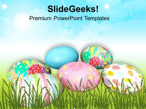 Message Of Hope Easter Festival PowerPoint Templates Ppt Backgrounds For Slides 0313