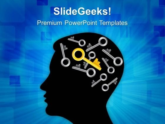 Mind Find Right Key01 Business PowerPoint Templates And PowerPoint Themes 0512