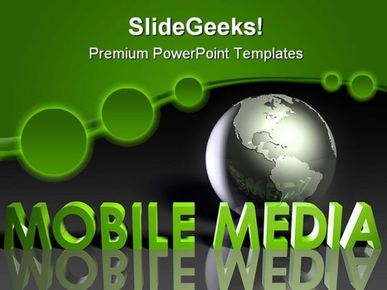 Mobile Media Communication PowerPoint Templates And PowerPoint Backgrounds 0311