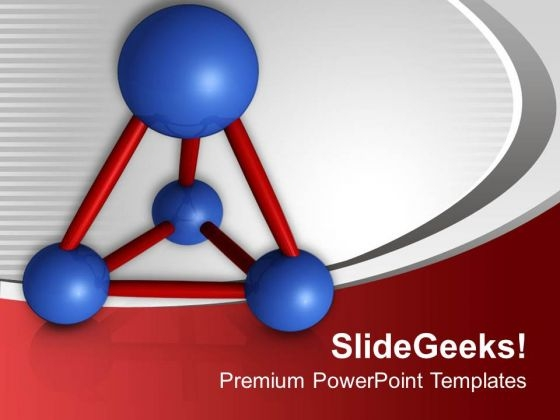 Molecular Structure For Science PowerPoint Templates Ppt Backgrounds For Slides 0513