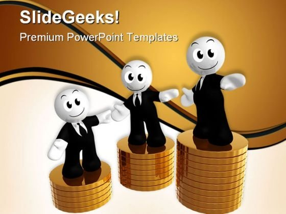 Money Growth Business PowerPoint Themes And PowerPoint Slides 0511