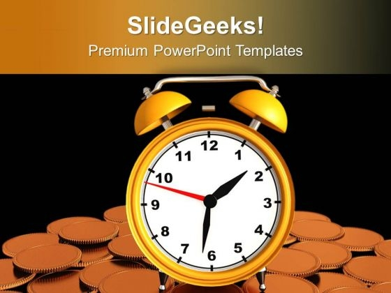 Money Increses With Time PowerPoint Templates Ppt Backgrounds For Slides 0613