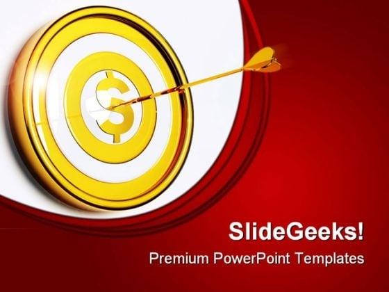 Dart powerpoint templates slides and graphics money target business powerpoint templates and powerpoint backgrounds 0711 toneelgroepblik Images