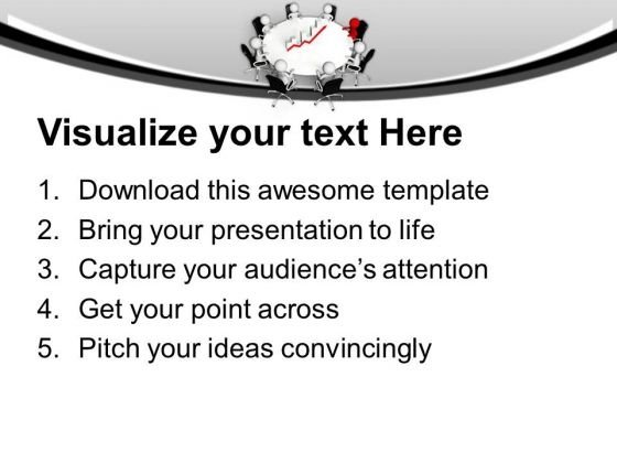 Monthly Business Review Meetings With Team Powerpoint Templates