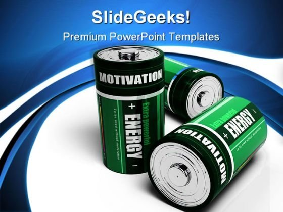 Motivation Energy Business PowerPoint Templates And PowerPoint Backgrounds 1011