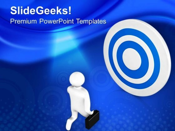 Move Fast To Find Your Target PowerPoint Templates Ppt Backgrounds For Slides 0713