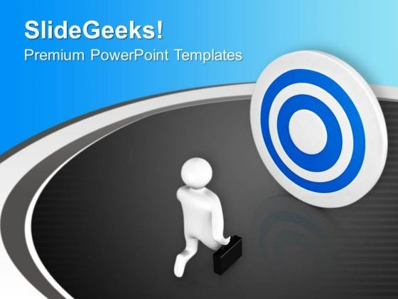Move To Achieve Target PowerPoint Templates Ppt Backgrounds For Slides 0713
