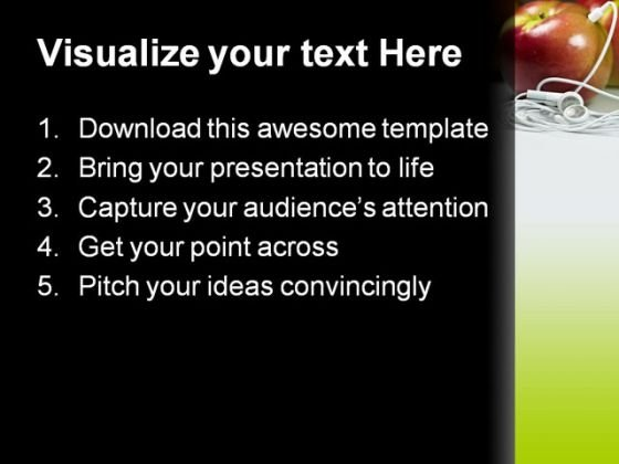 mp3_apple_food_powerpoint_themes_and_powerpoint_slides_0311_text