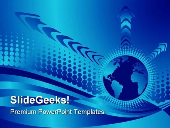 Multicolor Globe Abstract PowerPoint Themes And PowerPoint Slides 0811