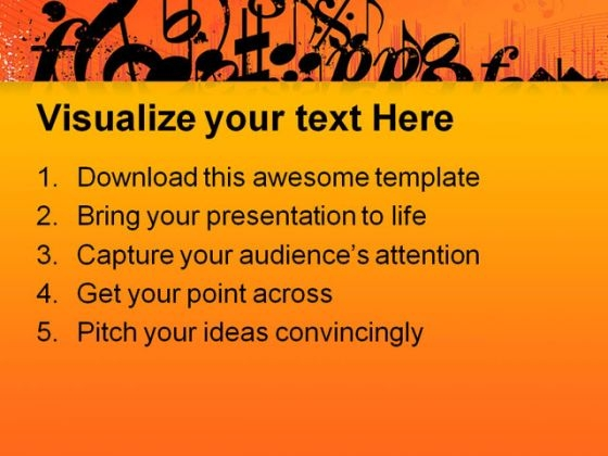 music_symbols_powerpoint_template_0910_text