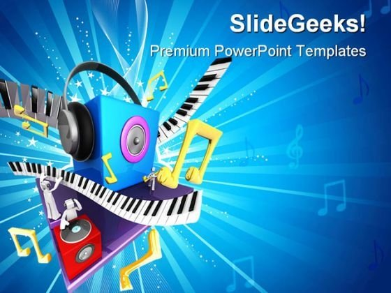 Musical World Symbol PowerPoint Themes And PowerPoint Slides 0211