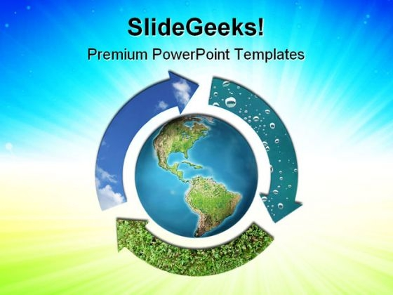 Natural Elements Earth PowerPoint Themes And PowerPoint Slides 0811
