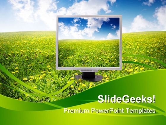 Natural Technology Nature PowerPoint Themes And PowerPoint Slides 0511