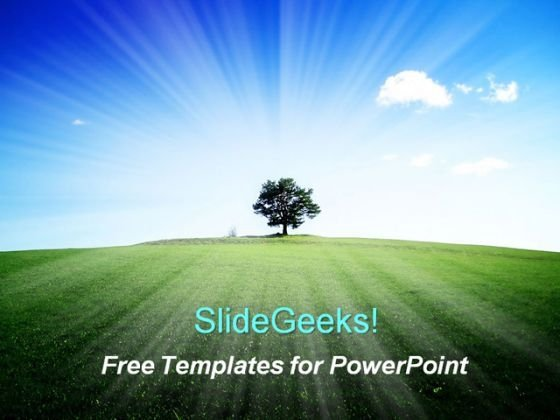 Beautiful Nature PowerPoint Template