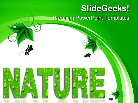 Nature Environment PowerPoint Themes And PowerPoint Slides 0411
