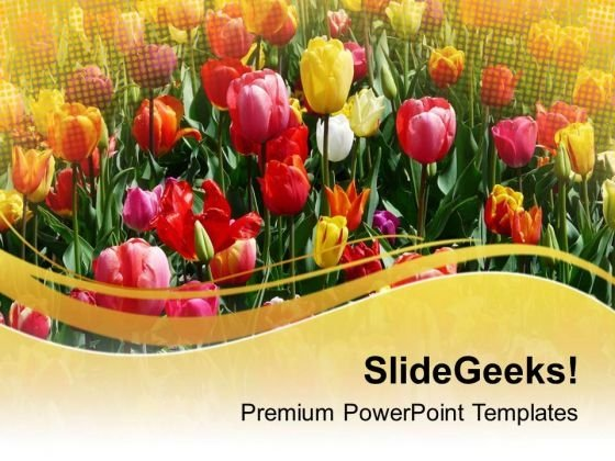 Nature Floral Background PowerPoint Templates Ppt Backgrounds For Slides 0713