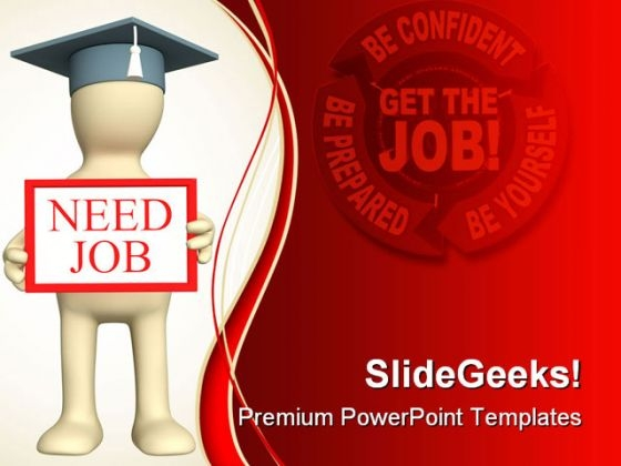 Need Job Business PowerPoint Themes And PowerPoint Slides 0411