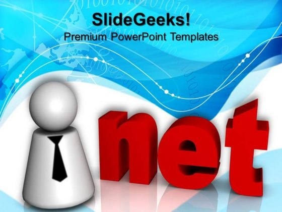 Net Computer PowerPoint Templates And PowerPoint Themes 0812